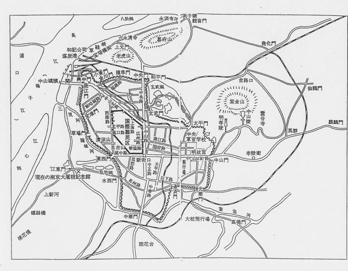 ナンキ南京城区地図